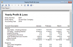 Profit and Loss Report/Investor Reporting-The SOGAS Advantage